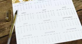 Kalender Dauer