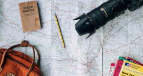 Reisen Landkarte England
