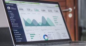 Statistik Zahlen Laptop