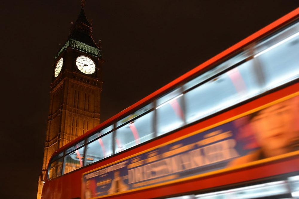 Zeitpunkt London