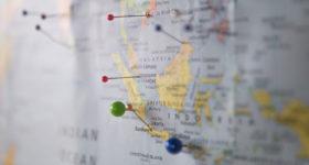 Zielland Map Landkarte